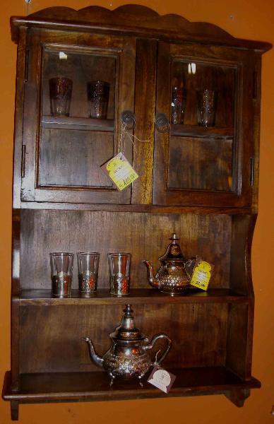 Librerie moduli mensole di mobili in legno articoli e prodotti etnici marocchini e orientali - Mobili marocchini ...