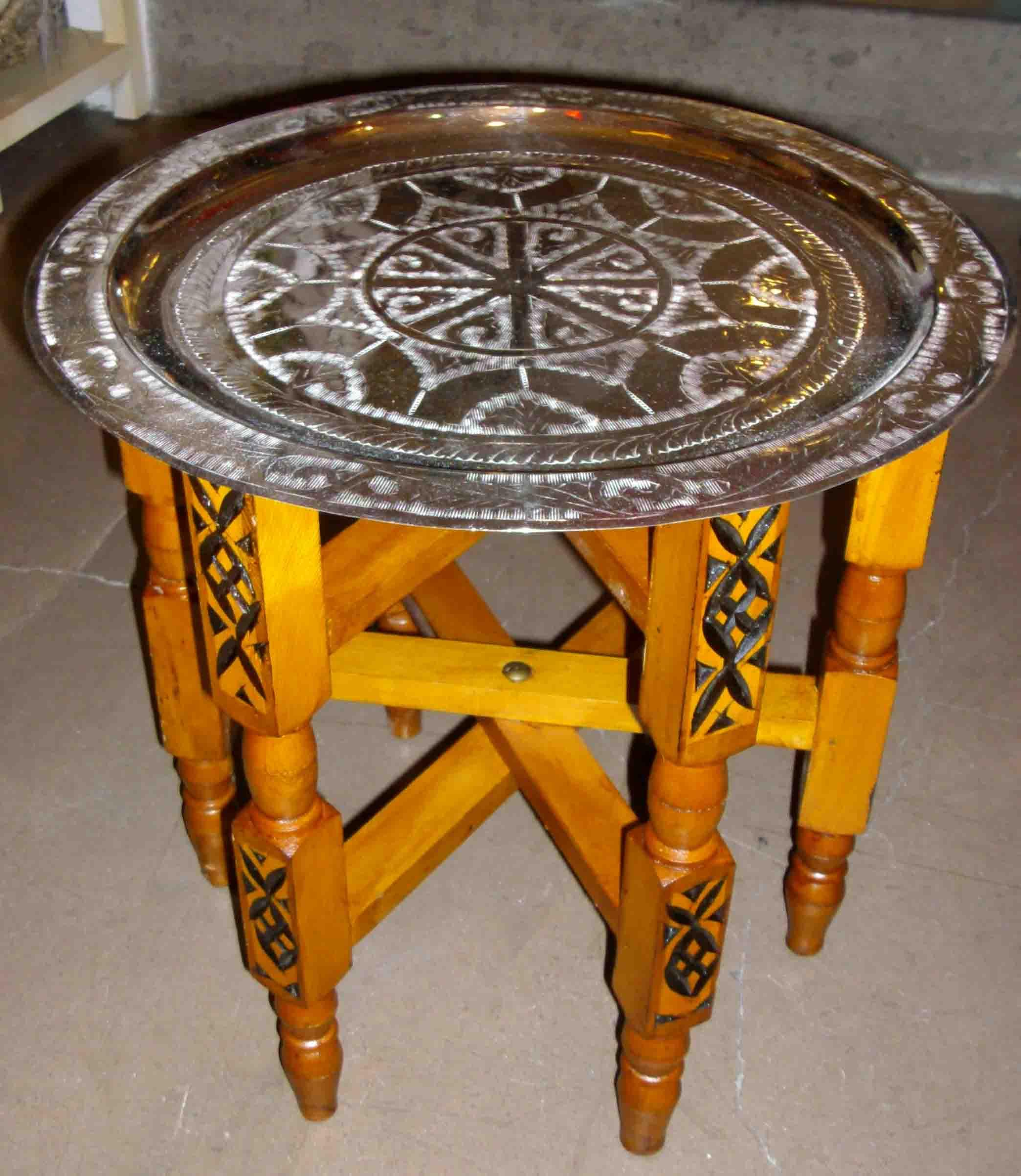 Tavoli,tavolini in legno marocchini di mobili e complementi ...