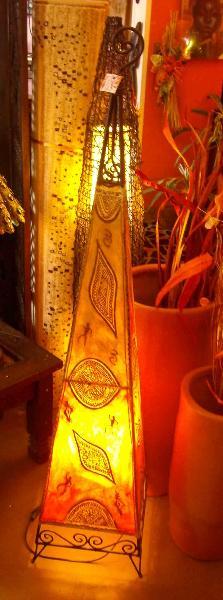 Piantana marocchina (Artigianato Marocco, Lampade) di Artigianato Vulcano, eCommerce ...