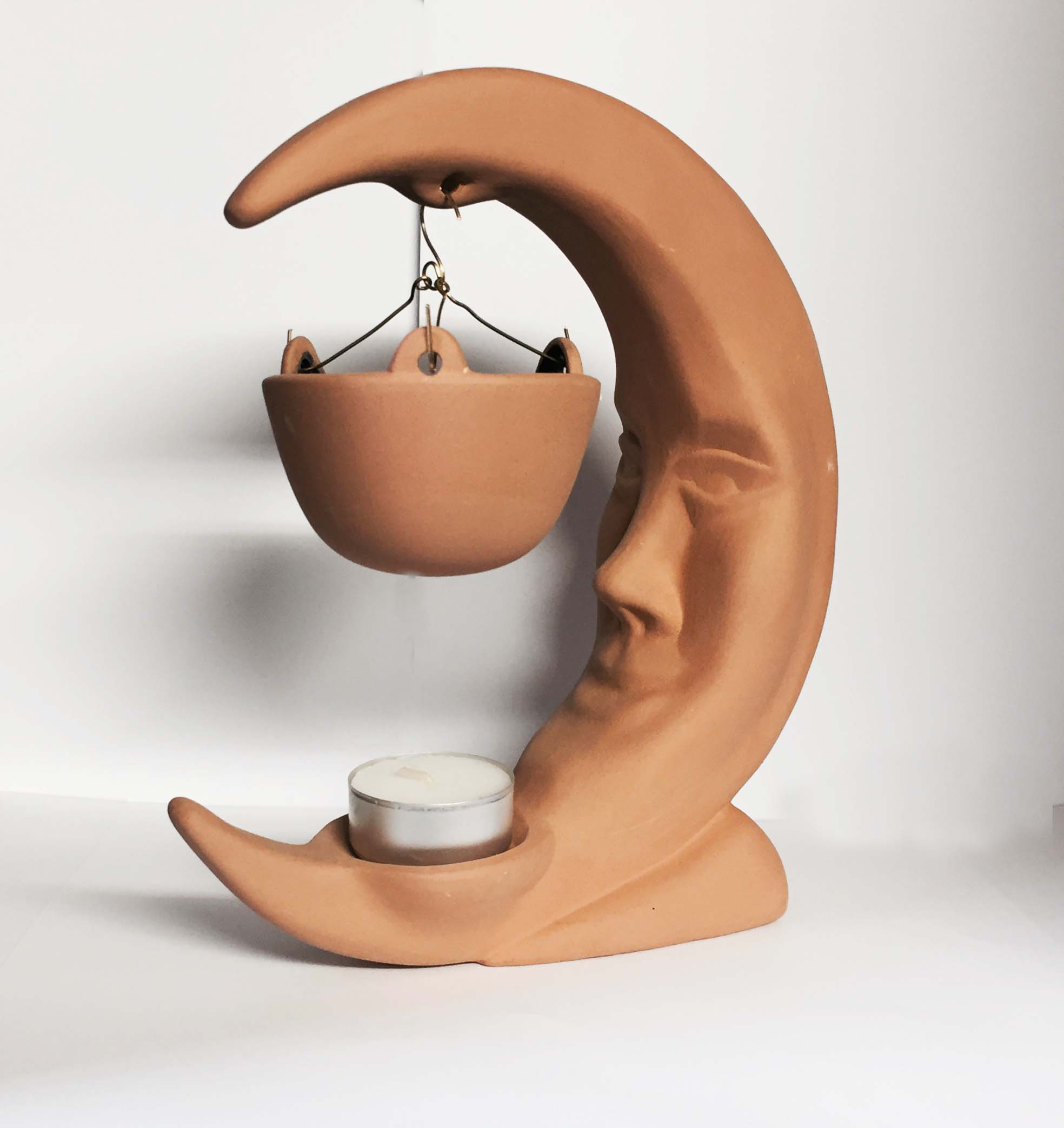 BRUCIA ESSENZE - DIFFUSORE IN TERRACOTTA