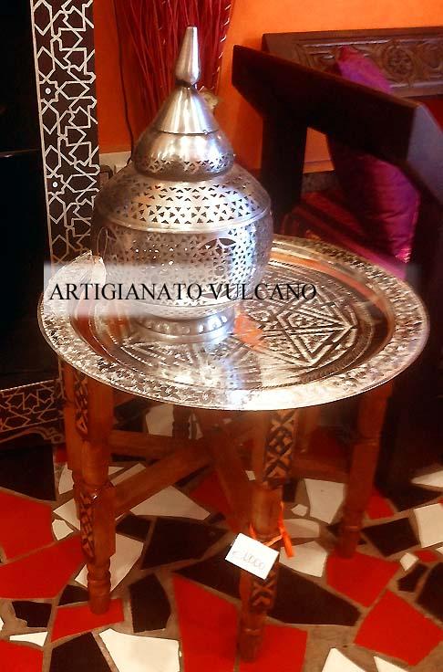 Tavolo marocchino mobili e complementi tavoli tavolini in legno marocchini di artigianato - Mobili marocchini ...