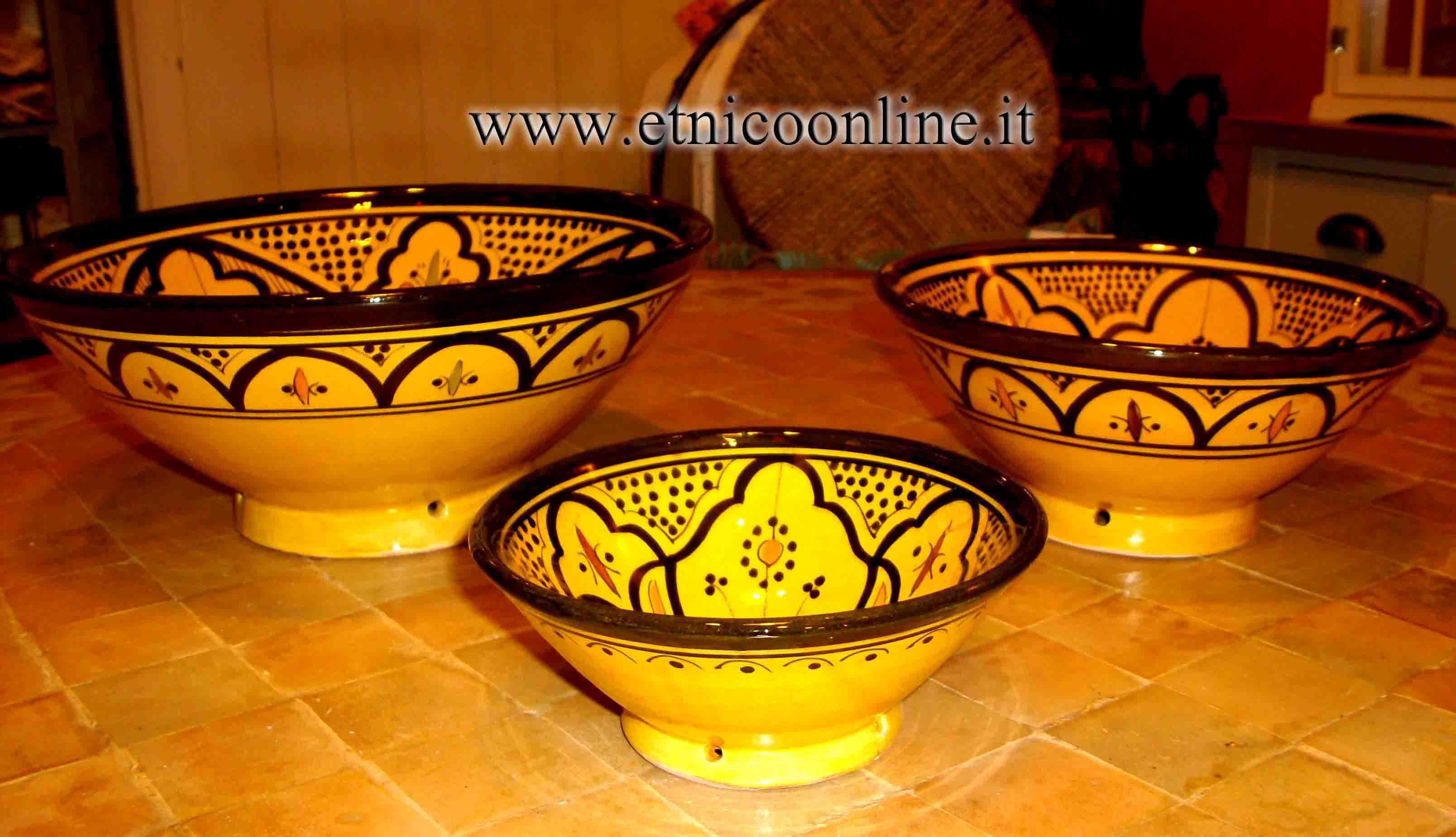 Set insalatiere marocchine oggettistica accessori da for Oggettistica cucina online