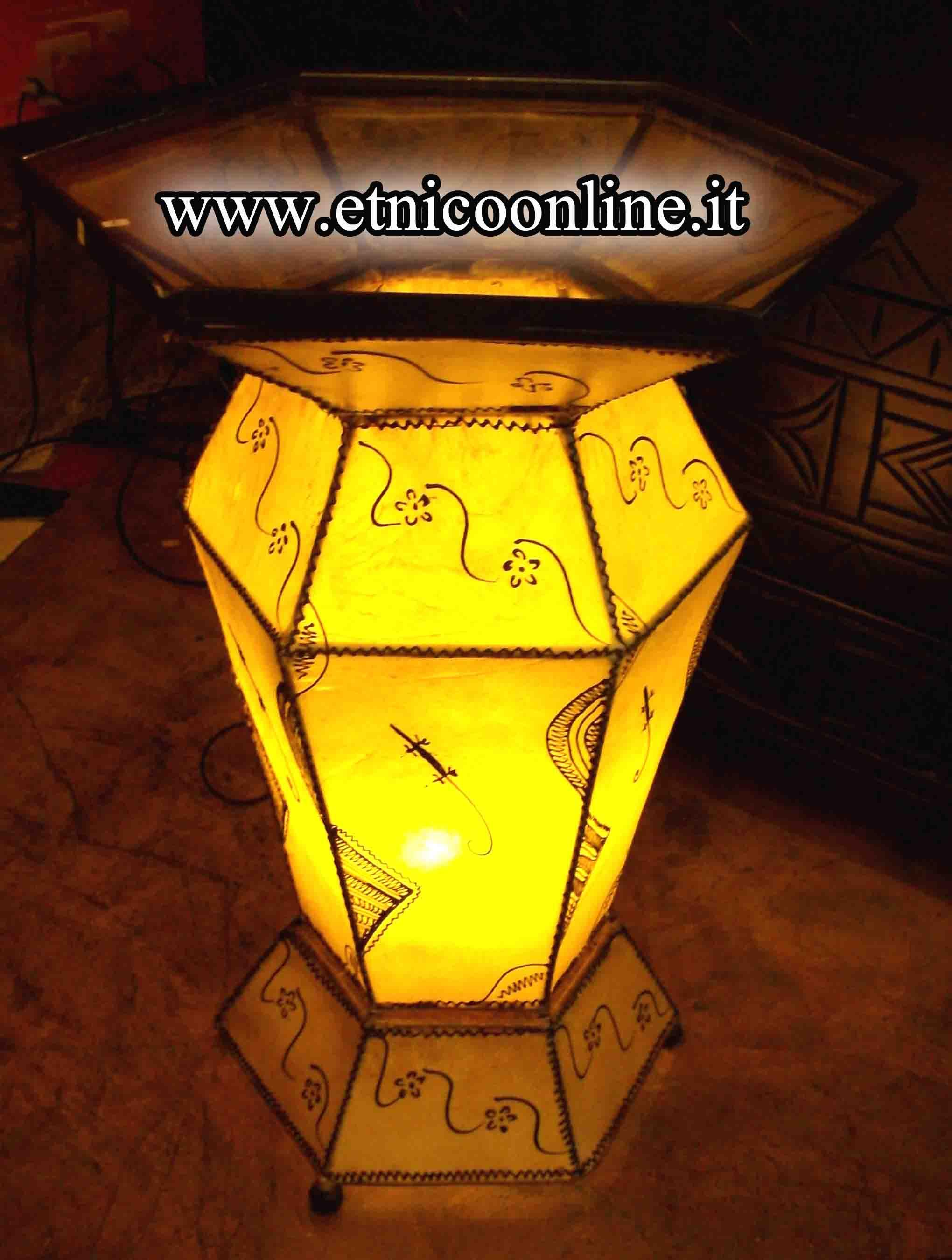 Lampade Etniche Da Terra: Atelier - lampada da terra karman marchi ...