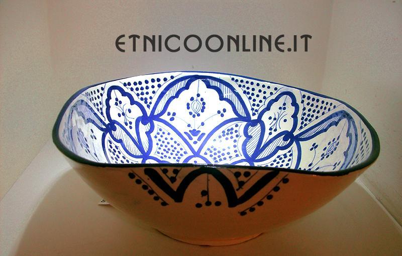 Ciotola marocchina dipinta oggettistica accessori da for Oggettistica cucina online