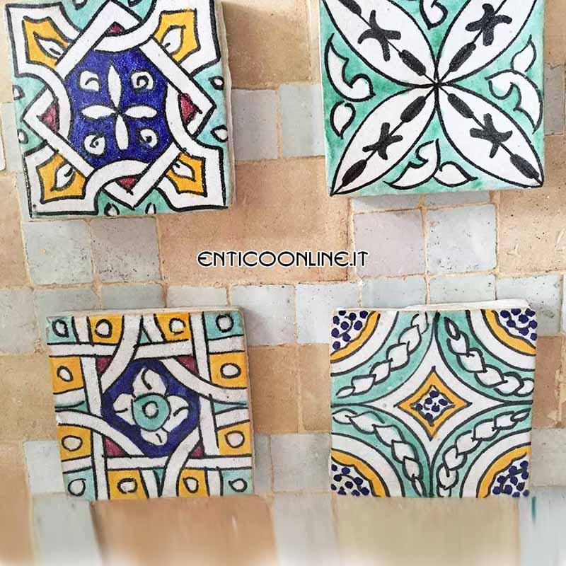 Mattonelle marocchine in ceramica fes ordina online - Mattonelle in ceramica decorate ...