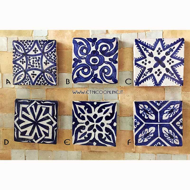 Ceramica vasi piatti di artigianato marocco articoli e - Mattonelle in ceramica decorate ...